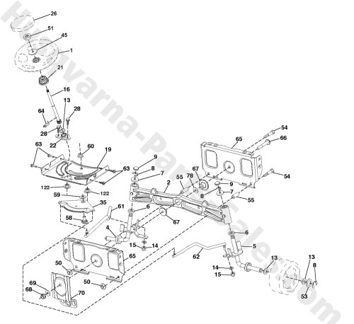 small resolution of husqvarna lawn mower steering diagram home wiring diagrams