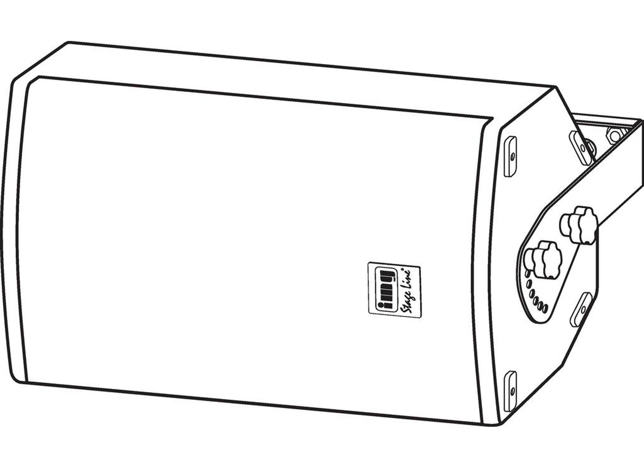 Monacor MHB-12 Speaker Holder, horizontal Online At Low