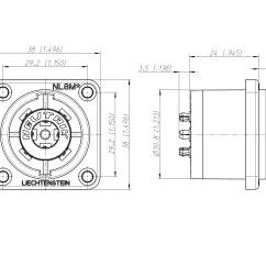 Speakon Jack Wiring Diagram 3d Animal Cell Labeled 4 Pole Xlr