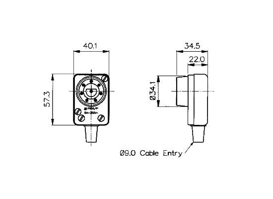 Bulgin Cable Plug, 8-pin, male At Huss Light & Sound