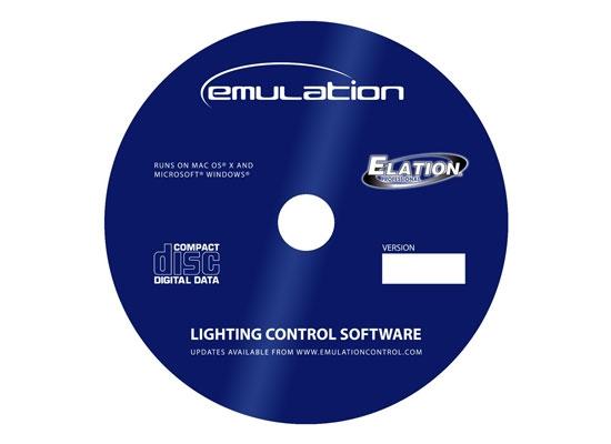elation emulation dmx artnet software