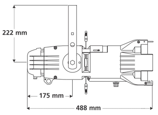 ETC Source Four Junior Zoom 25°-50° Profilscheinwerfer