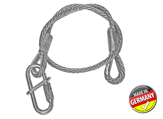 SweetPRO SA 100/10-S Safety Wire, 100kg, 1000x10mm silver
