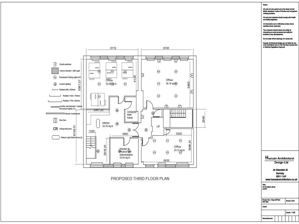 Hussain Architectural Design, Planning permission london