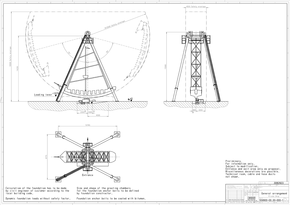 parts of a pirate ship diagram 99 dodge neon stereo wiring huss park attractions action pendulum swing