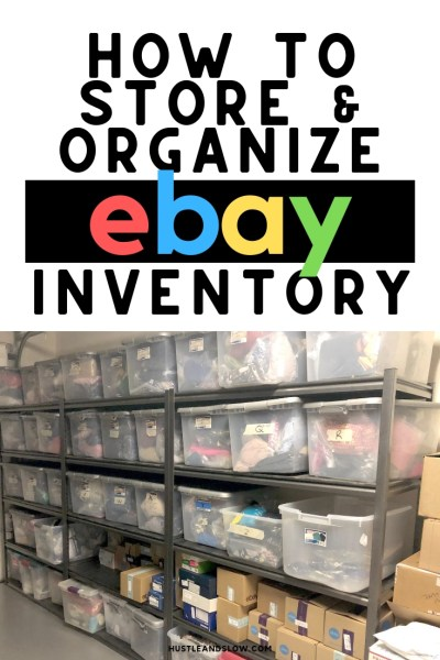 Ebay Inventory Storage and Organization | Our Ebay Inventory System