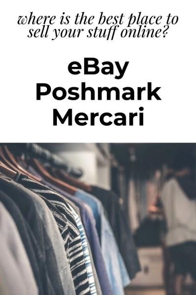Which is better? eBay vs Poshmark vs Mercari