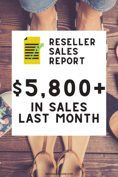 Reseller Income Report: $5802 in June 2019 | Ebay Poshmark Mercari