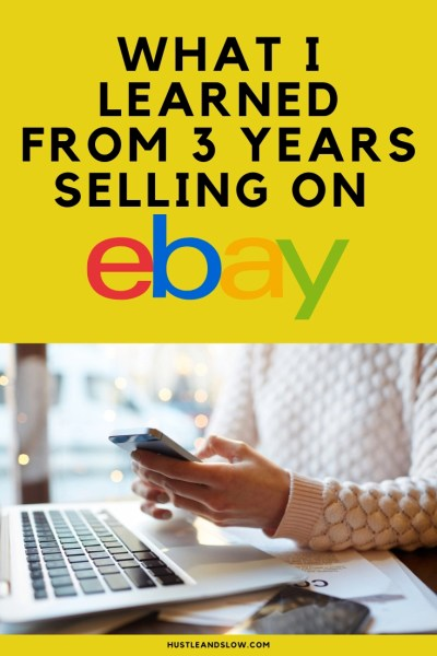 What I Learned After 3 Years Selling on Ebay