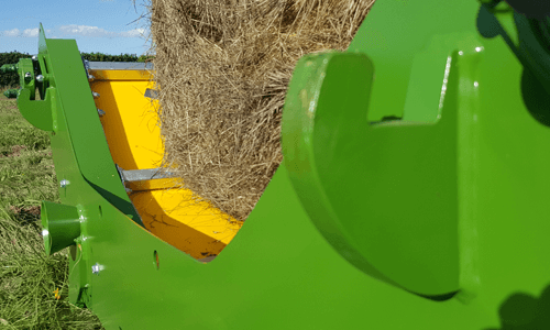 bale unroller dual-latches