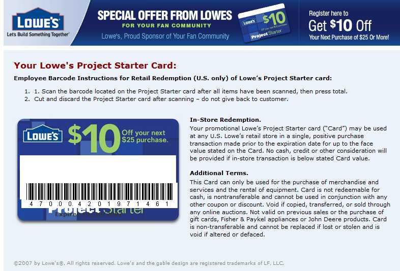 Lowes 10 Off 25 Coupon 10 Off and 100 Gift Card  Hustler Money Blog