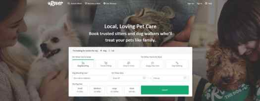 Earn by walking furry mates with Rover