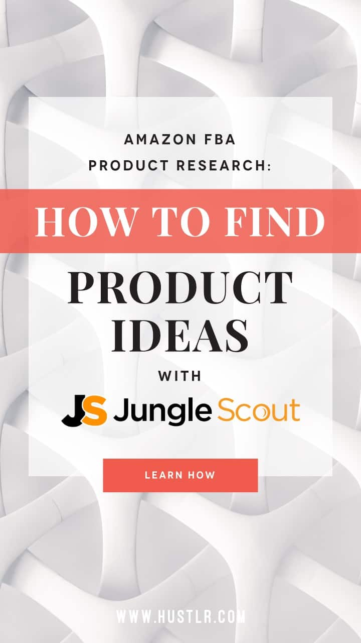 how to use jungle scout to find products