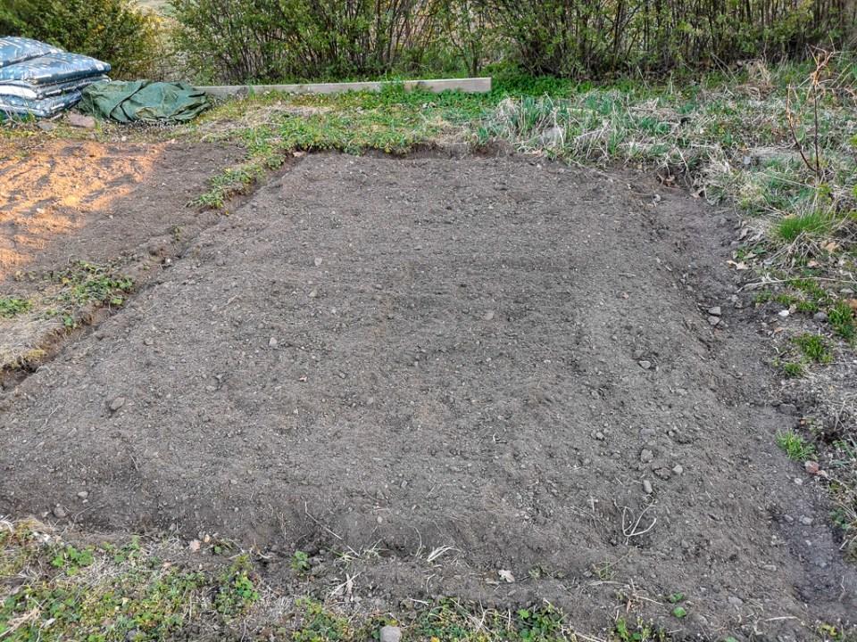 Trädgårdsarbete gav en fin rabatt!