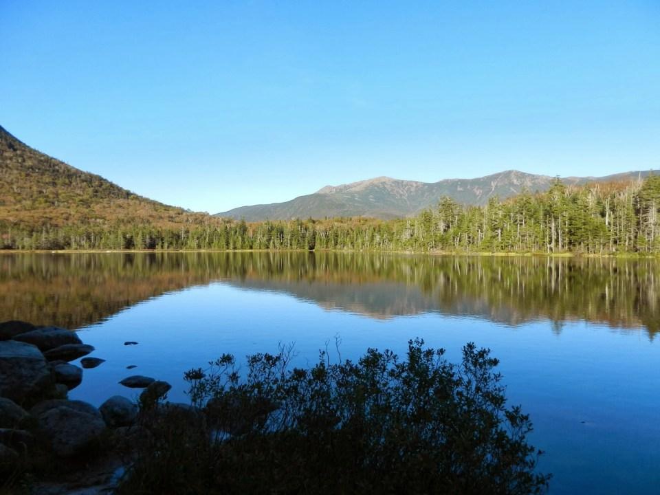 Lonesome Lake, Franconia Ridge, Appalachian Mountain Club Huts Photos, hut2hut