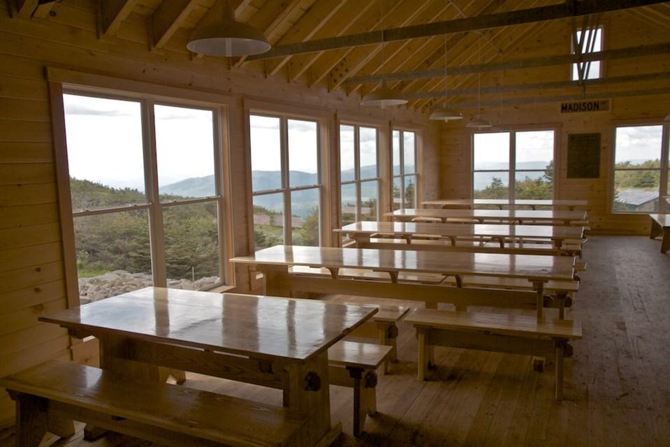 Madison Dining Room, Appalachian Mountain Club Huts Photos, hut2hut