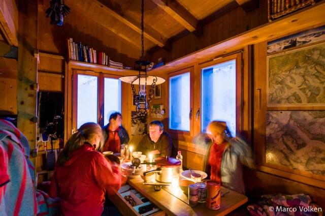 Aarbiwak Hut, Swiss Alpine Club, hut2hut