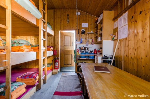 Arben Hut, Swiss Alpine Club, hut2hut