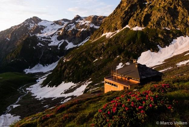 Campo Tencia Hut, Swiss Alpine Club, hut2hut