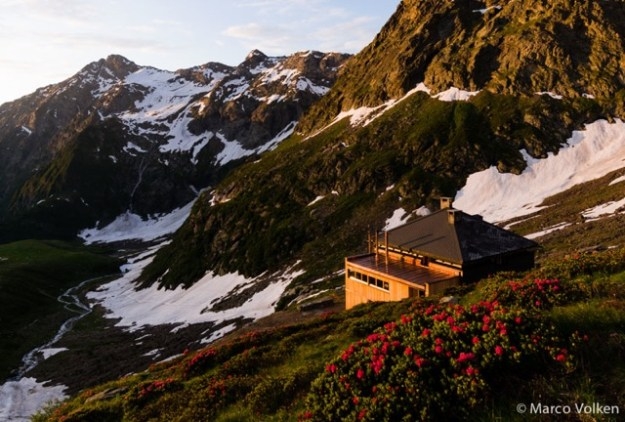 Campo Tencia Hut, Swiss Alpine Club, hut2hut