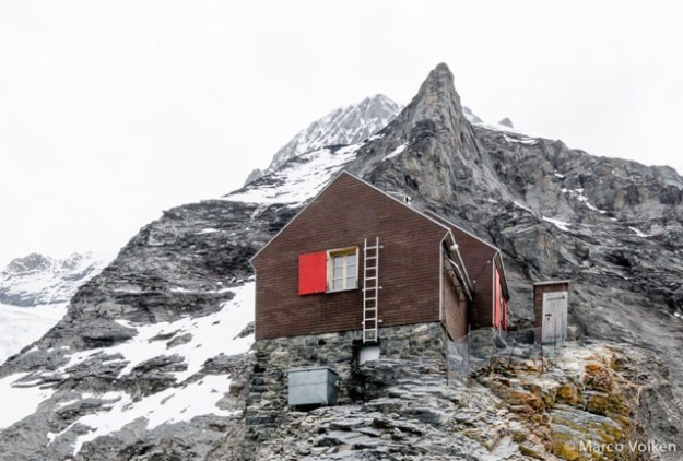 Guggi Hut, Swiss Alpine Club, hut2hut