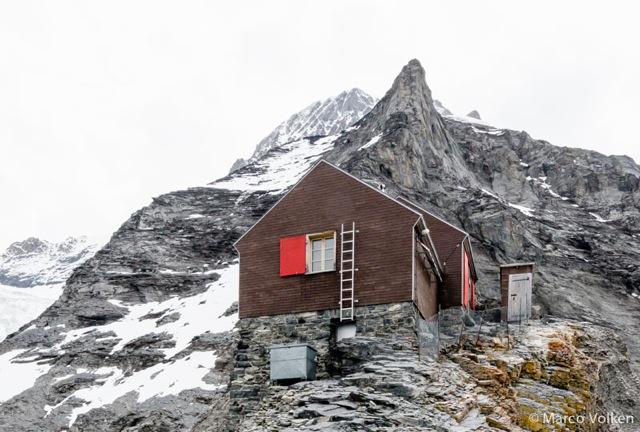 Guggi Hut, Swiss Alpine Club, hut2hut