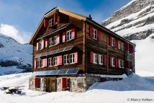 Lämmeren Hut, Swiss Alpine Club, hut2hut