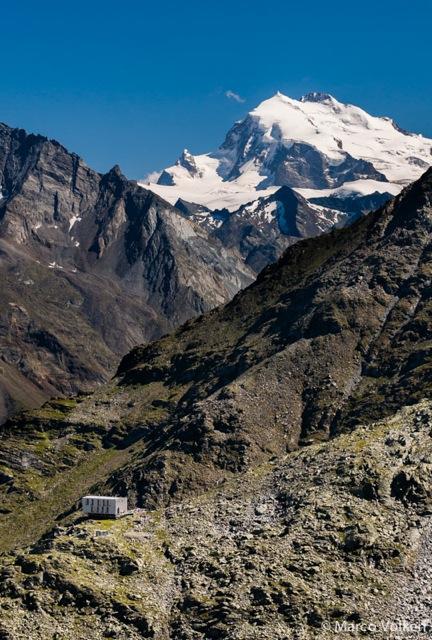 Topali Hut, Swiss Alpine Club, hut2hut