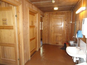 Main room of the bathroom