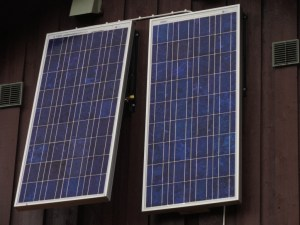 Solar Panels, Den Norske Turistforening (DNT) at Rondvassbu Hut, hut2hut operational profile
