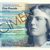 Sheperd Five Pound Note