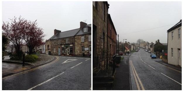 The village of Belford, located on St. Oswald's Way, Northumberland, UK © Amanda Wagstaff 2016
