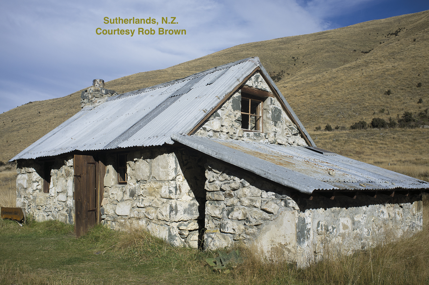 Sutherlands Hut, built 1860's - a former boundary keepers hut