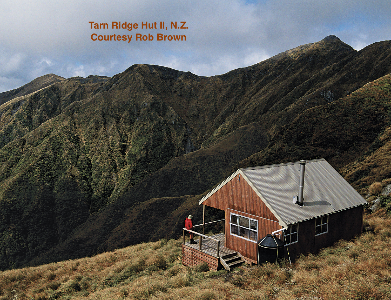 Tarn Ridge Hut, 16 bunk replacement high mountain built by DOC