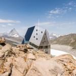 New Monte Rosa Hut from hut2hut