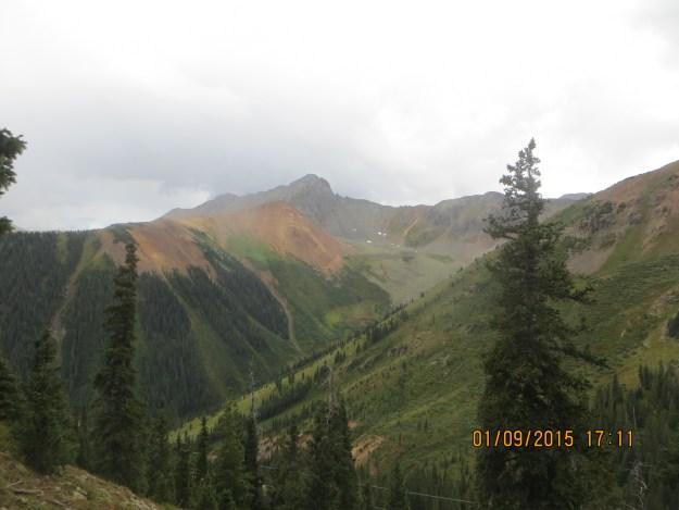 Towards Ophir Pass, OPUS Huts, hut2hut