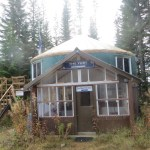 Mount Tahoma Yurt, Photo Galleries of Hut Systems, hut2hut