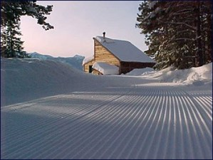 Groomed trails, Rendezvous Huts, Operational Profile hut2hut