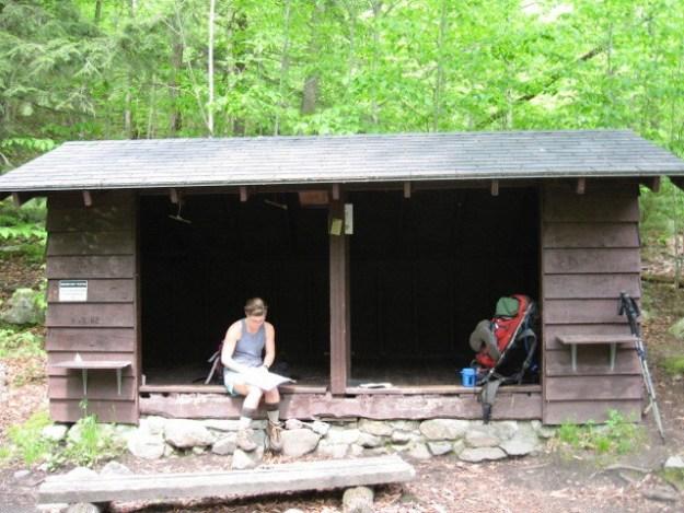 Big Branch Shelter, Green Mountain Club Shelters, hut2hut
