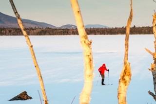 Flagstaff Lake, Maine Huts & Trails, hut2hut