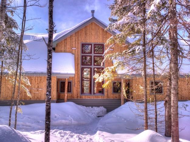 Grand Falls Hut, Maine Huts & Trails, hut2hut