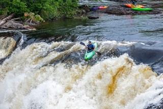 Dead River Kayaker, Maine Huts & Trails, hut2hut