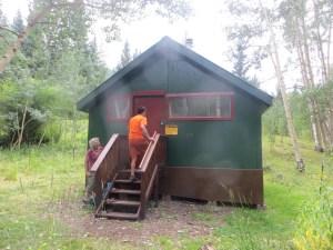 Huts U.S. Forest Service