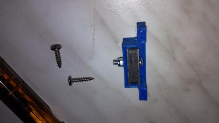 Aterinlaatikon magneettilukon korjaus