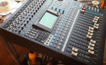 Yamaha digital mixing console 01V96E1