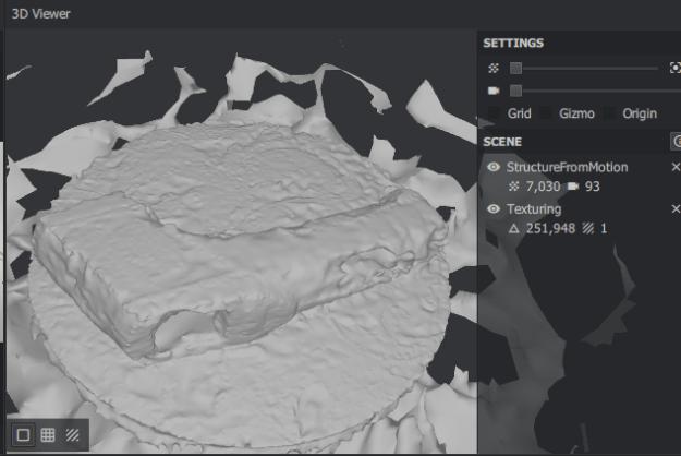 3D fotogrammetria pintamallikuva