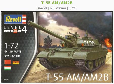 Revelle T-55 panssarivaunu
