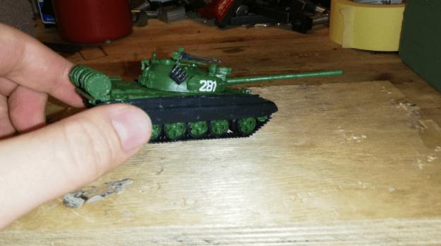 Tankin asemoinnin hahmotusta
