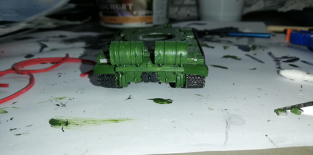 Panssarivaunu takaapäin