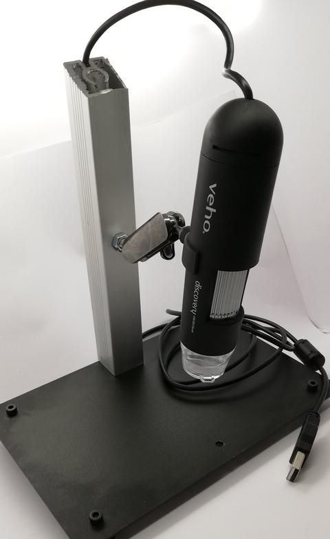 Digitaalimikroskoopin teline DIY